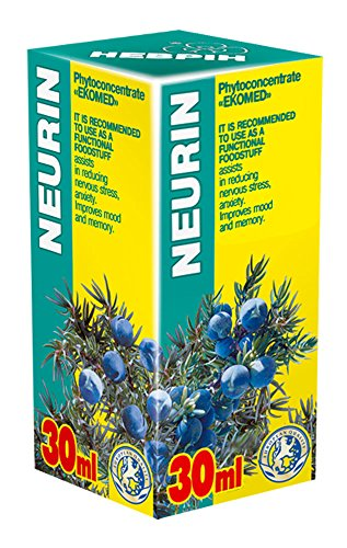 Neurin 30ml Phyto Concentrate - Natural Plant Extracts - Effective Nervous System Health, Mental Health, Stress, Depression, Antidepressant from EKOMED