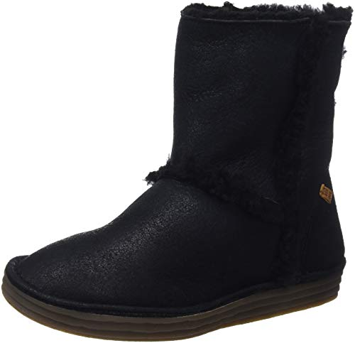 El Naturalista Women's N5054 Doble Faz-lux Suede Black/Rice Field Slouch Boots 5 UK from El Naturalista