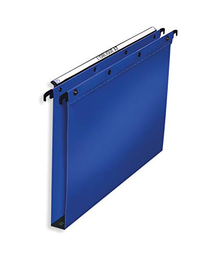 Elba, A4 Suspension Files, Polypropylene, 30 mm Base, Blue, Folders 10 from Elba