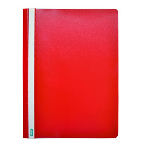 Elba A4 Report Files - Red, Pack of 50 from Elba