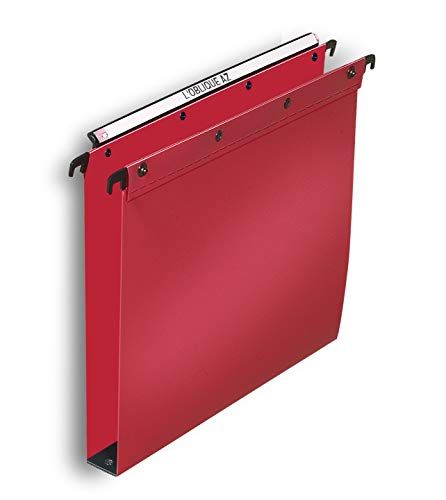 Elba for 100330387 Ultimate Suspension File Polypropylene A4 Red (Pack of 10 from Elba