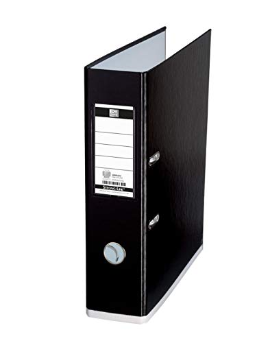 Elba A4+ MyColour Lever Arch File, 80mm Spine, Black/White (1 Folder) from Elba