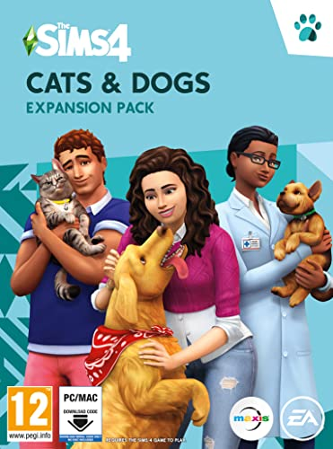 The Sims 4 Cats and Dogs (PC Download Code) from Electronic Arts
