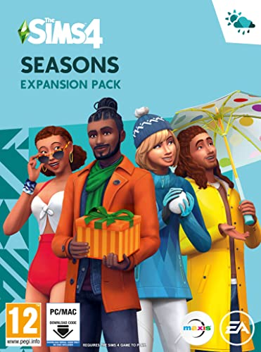 The Sims 4 Seasons PC Download Code from Electronic Arts