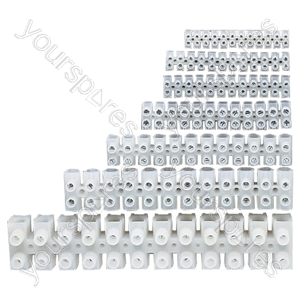 12 Way Screw Terminal Block from Electrovision