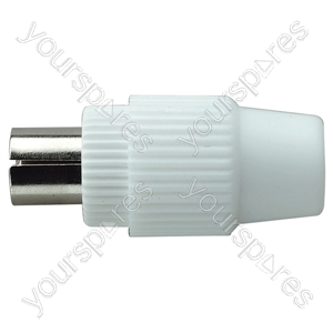 9.5 mm Coaxial Line Plug from Electrovision