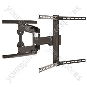 "Dual Pivot Tilt & Swivel Curved TV Mounting Bracket 37-80"" from Electrovision"