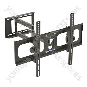 Dual Pivot Tilt & Swivel TV Mounting Bracket from Electrovision