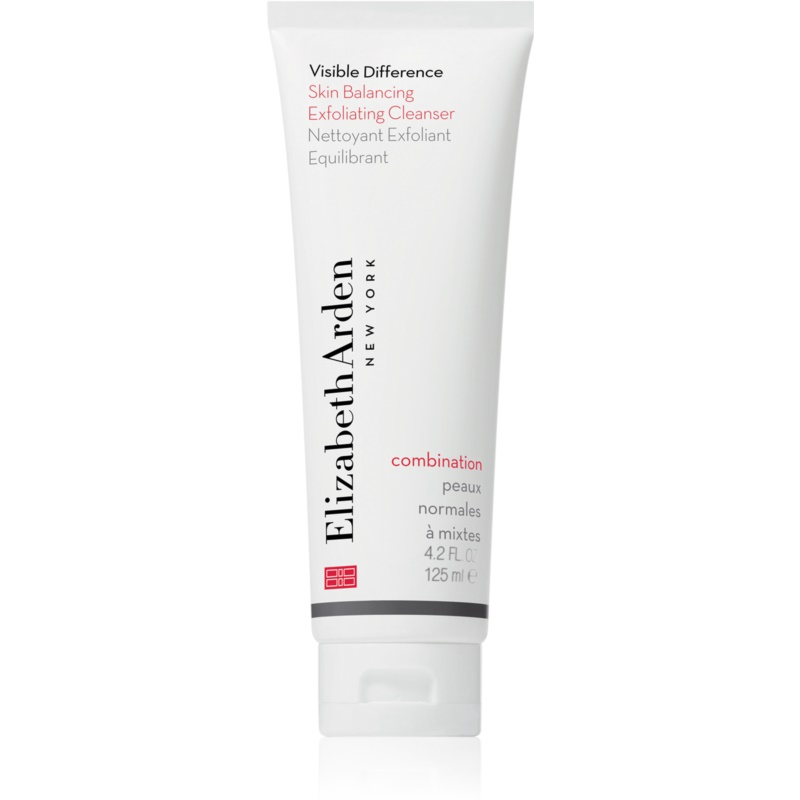 Elizabeth Arden Visible Difference Skin Balancing Exfoliating Cleanser Foaming Peeling for Normal and Combination Skin 125 ml from Elizabeth Arden