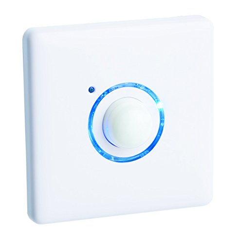 ELKAY 376A-3 Illuminated PIR Button Timer, 3 core Slave, ABS, White from Elkay