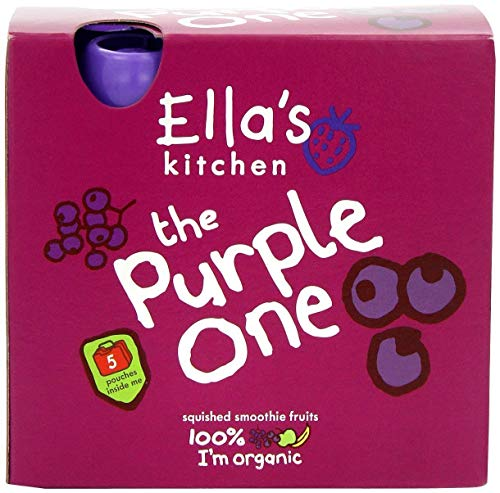 Ella's Kitchen - Smoothies - The Purple One - 5x90g (Pack of 5) from Ella's Kitchen