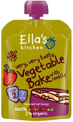 Ella's Kitchen - Stage 2 Baby Food - Vegetable Bake - 130g (Pack of 5) from Ella's Kitchen