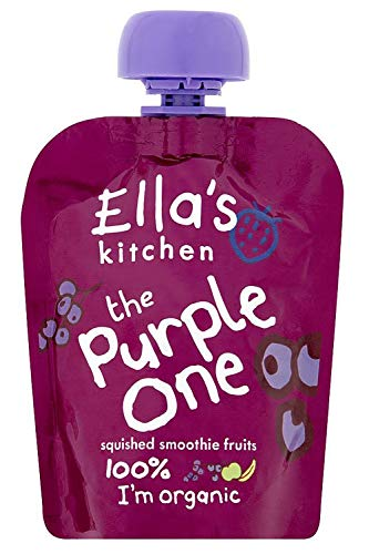 Ella's Kitchen The Purple one Organic Fruit Smoothie from Ella's Kitchen