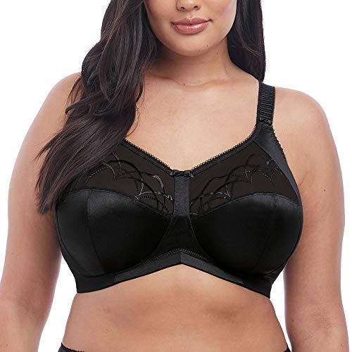 Elomi Women's Cate Soft Cup Bra, black, 36G from Elomi