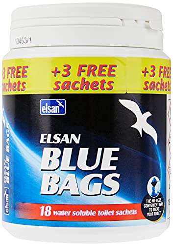 Elsan Chemical Toilet Bags - Blue from Elsan
