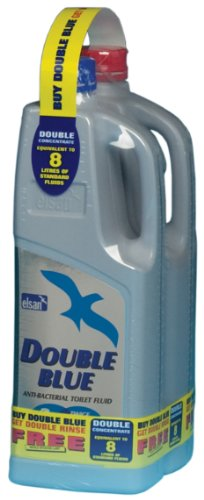 Elsan Double Toilet Fluid - Blue, 2 Litres-free double rinse (2 litre) from Elsan