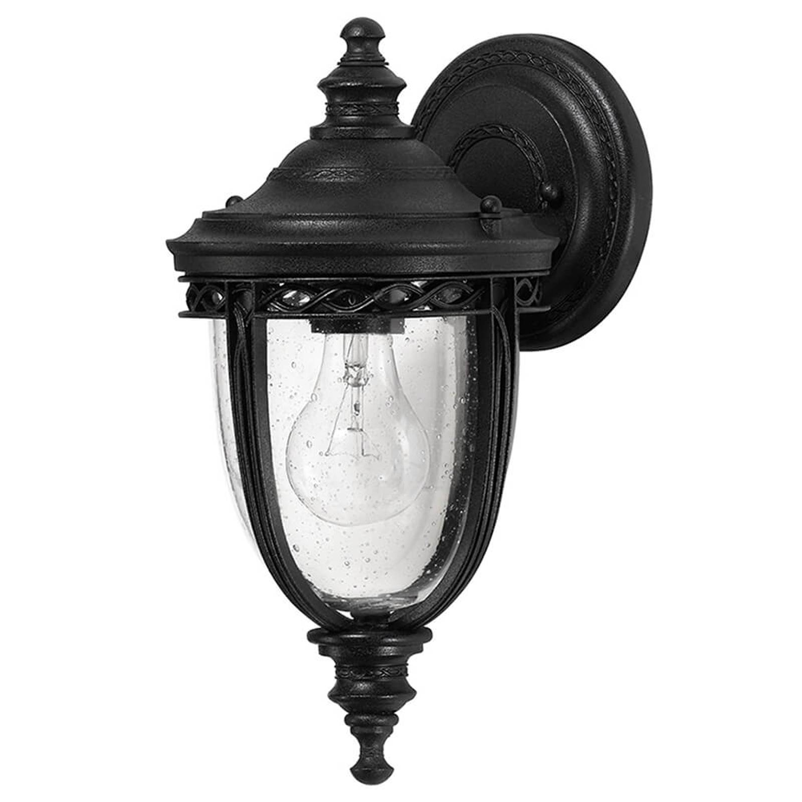 English Bridle wall lantern outdoor 16.5 cm black from FEISS