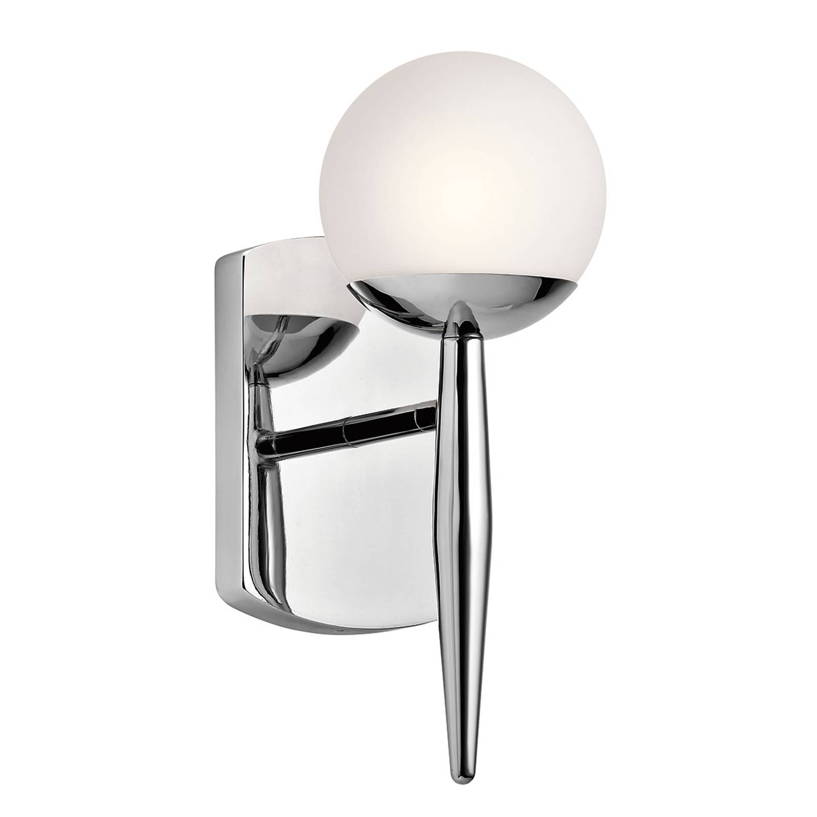 Gracefully designed LED bathroom wall lamp Jasper from KICHLER