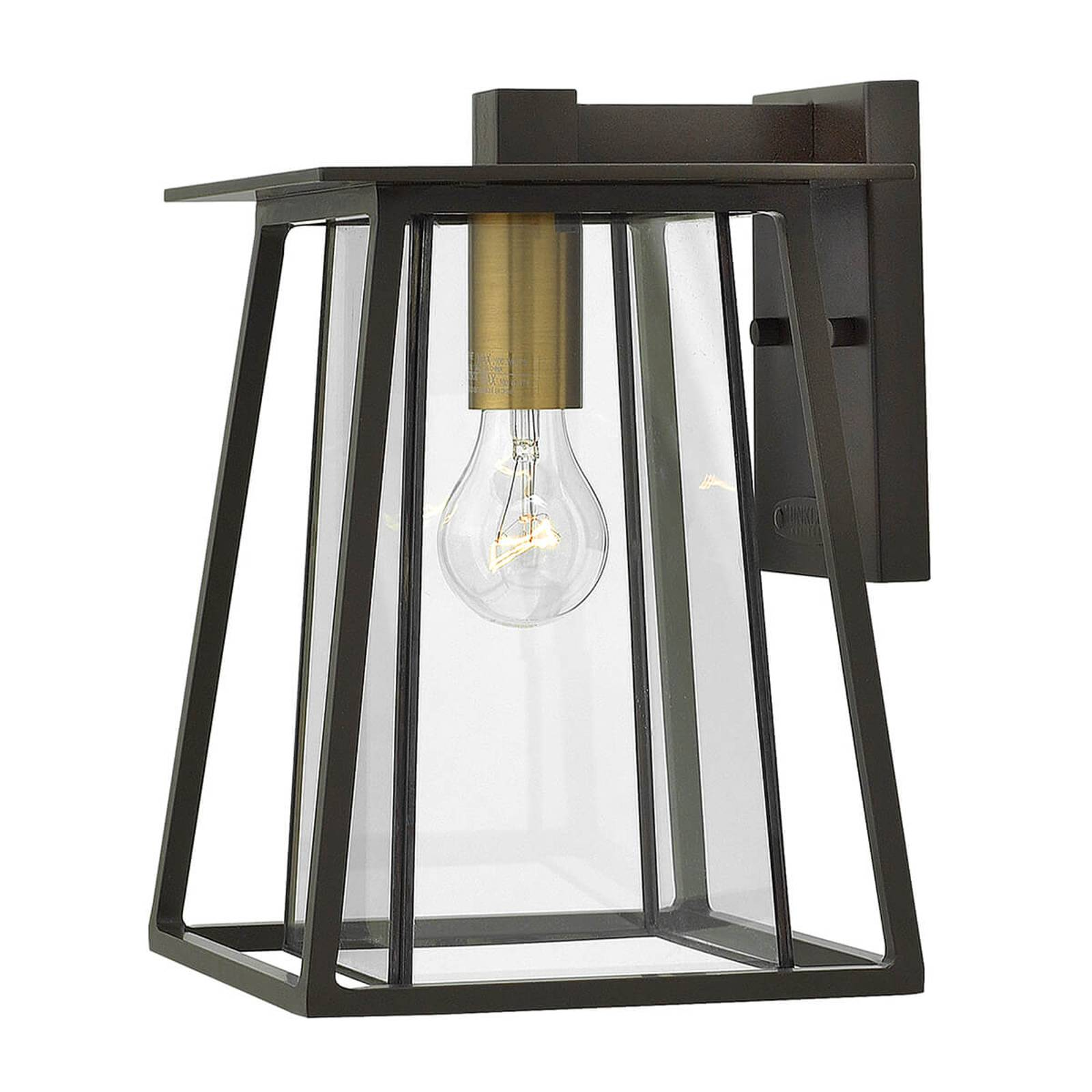 Medium-sized Walker outdoor wall light one-bulb from HINKLEY