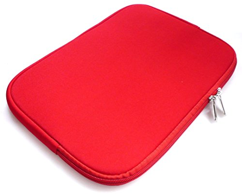Emartbuy Red Water Resistant Neoprene Soft Zip Case Cover Sleeve suitable for Acer Chromebook 14 CB3-431 (13-14 Inch Laptop/Notebook/Ultrabook) from Emartbuy