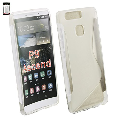 Emartbuy Ultra Slim Gel Skin Cover Case for Huawei P9 - Clear from Emartbuy
