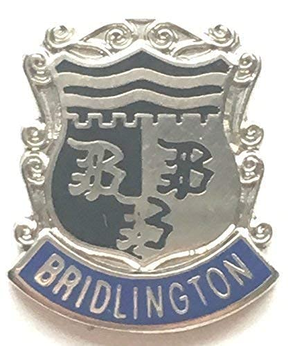 Emblems-Gifts Bridlington England Small Enamel Lapel Pin Badge T082 from Emblems-Gifts