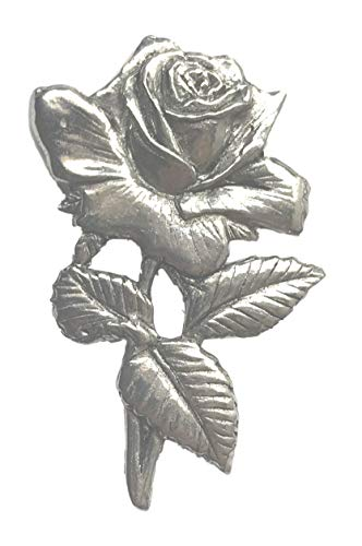 England Rugby Union Rose Hand Made in the UK Pewter Lapel Pin Badge from Emblems-Gifts