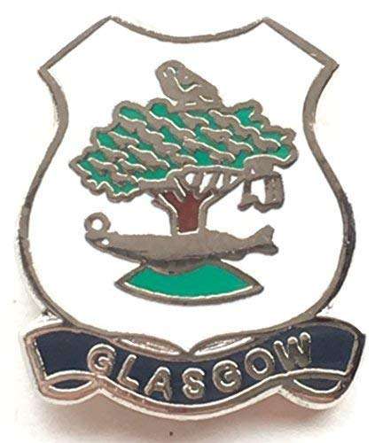 Emblems-Gifts Glasgow Scotland Small Enamel Lapel Pin Badge (T0036) from Emblems-Gifts