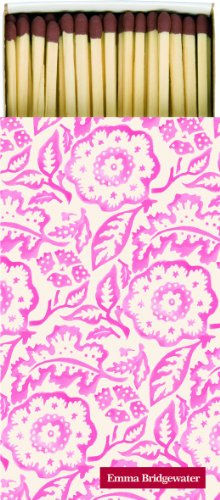 Extra long matches Emma Bridgewater PINK WALLPAPER floral from Emma Bridgewater