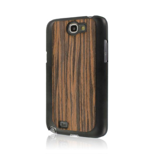 Empire Mpero Embark Series Repurposed Wood Case for Samsung Galaxy Note 2 - Ebony Macassar from Empire