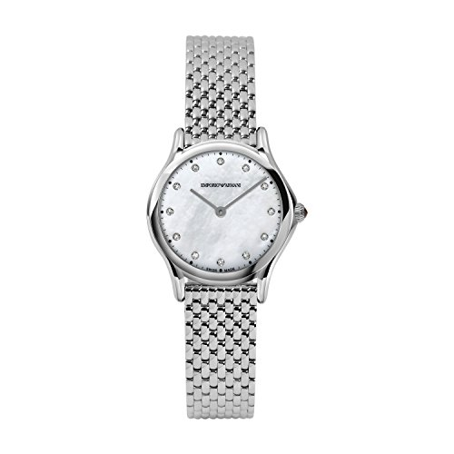 Emporio Armani Women's Analog Quartz Watch with Stainless Steel Strap ARS7501 from Emporio Armani