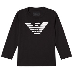 Emporio Armani Black Eagle Logo Long Sleeve Tee 10 years from Emporio Armani