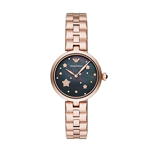 Emporio Armani Womens Analogue Quartz Watch with Stainless Steel Strap AR11197 from Emporio Armani