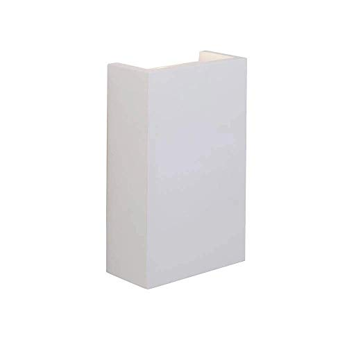 Saxby Mornington 2W White Plaster Modern Decorative Compact LED Up Down Wall Light from Endon Lighting