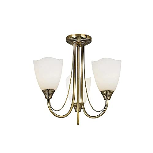 3 Light Mini Chandelier from Endon