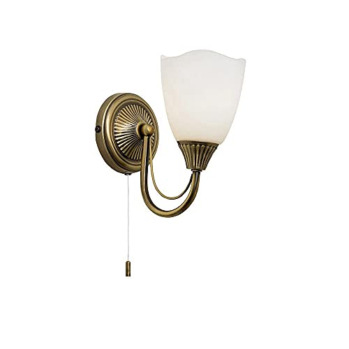 Martino 1 Light Semi Flush Wall Light from Endon