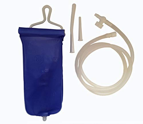 Home Enema & Douche Kit for Intestinal and Vaginal Irrigation - 2 litre bag from Home Enema Kit