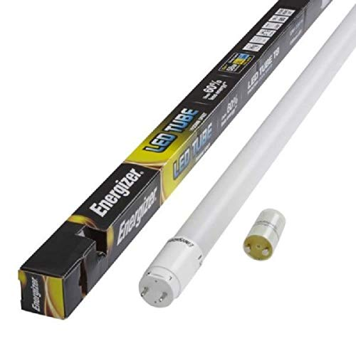 Energizer HighTech T8 Led Tube - Retrofit Fluorescent Tube Replacement - Includes Starter - Bundles of x2/x4/x6/x12 Available! (6X - 6FT - Day Light) from Energizer