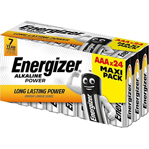 Energizer AAA Batteries, Alkaline Power, 24 Family Pack from Energizer
