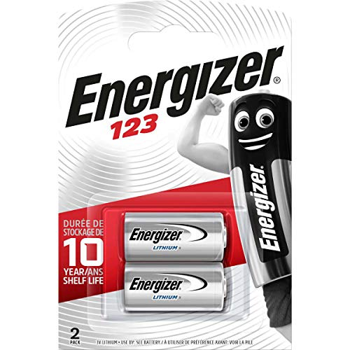 Energizer 123 Lithium Photo Battery, 2-Pack from Energizer