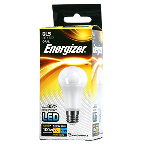 Energizer LED GLS Energy Saving Lightbulb, E27, 12.5 W, Warm White from Energizer