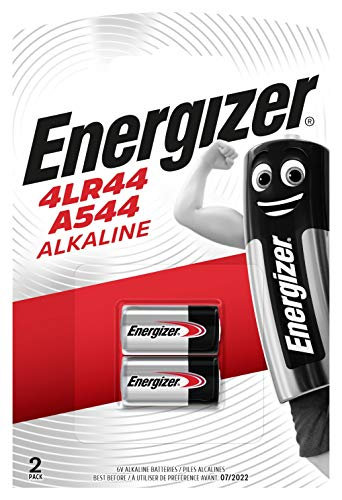 Energizer alkaline battery 4LR44/A544 6V 2-blister from Energizer