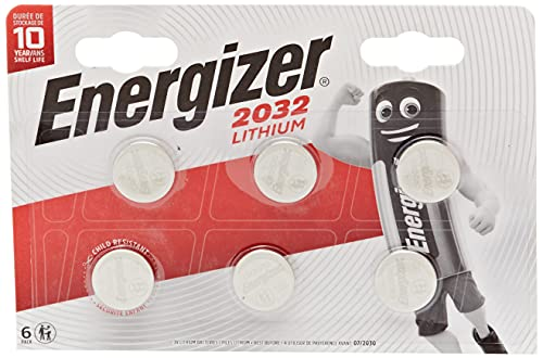 Energizer 3 Volt Lithium CR2032 Batteries - Pack of 6 from Energizer