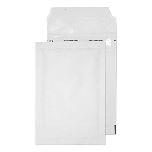 Blake Purely Packaging 165 x 100 mm Envolite Peel & Seal Padded Bubble Envelopes (A/000) White - Pack of 200 from Blake