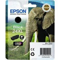 Epson 24XL (T243140) Black Original Claria Photo HD High Capacity Ink Cartridge (Elephant) from Epson