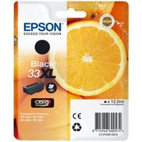 Epson 33XL (T33514010) Black Original Claria Premium High Capacity Ink Cartridge (Orange) from Epson