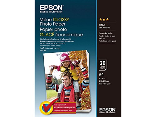 Epson C13S400035 A4 Glossy Paper from Epson