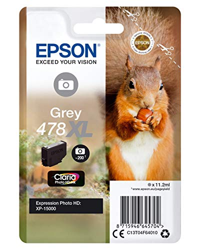 Epson C13T04F64010 X-Large Inkjet Cartridge - Grey from Epson