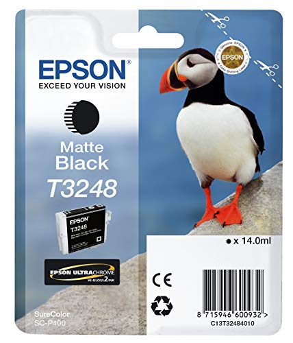 Epson C13T32484010 Ink Cartridge for Printer, Matte Black, Genuine, Amazon Dash Replenishment Ready from Epson