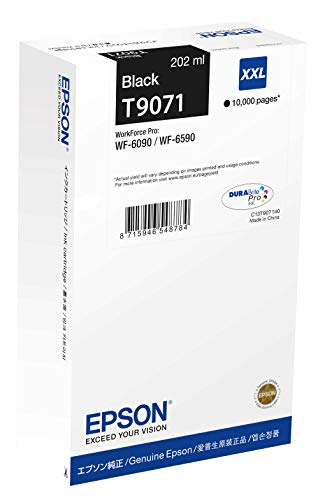 Epson C13T907140 2X-Large Ink Cartridge for Printer - Black from Epson